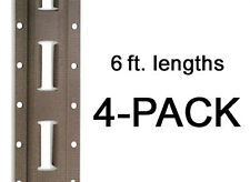 E Track - Mfg. In The USA - 6 ft. Vertical / Trailer Tiedown - 4 Pieces