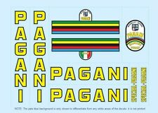 Pagani Bicycle Decals-Transfers-Stickers #1