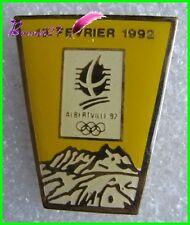 Pin's Jo Jeux Olympique Albertville le 13 Fevrier 1992  #B4