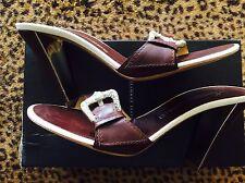 Nwt Giuseppe Zanotti  Birel T Moro Sandal 40 Brown $650 Made In Italy