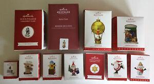 HALLMARK Lot of 11 NEW Member Exclusives Keepsake Ornament Club 🎄 Christmas NIB