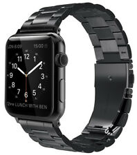 42mm Apple Watch Replacement Band Strap Stainless Steel iWatch Series 1 2 Black