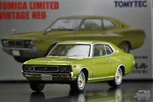 [TOMICA LIMITED VINTAGE NEO OGIKUBO 08 1/64] NISSAN LAUREL HT 2000SGX 1972 Green