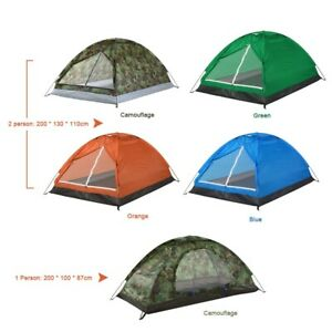 Outdoor Portable Camping Tent Pop Up Outsunny 2 Persons Shelter Instant Waterpro