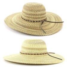 Gorra de mujer de paja
