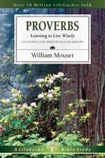 Proverbs (Lifeguide Bible Studies)-ExLibrary