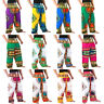12 Color Dashiki African Pants Cotton Aladdin Yoga Harem Unisex BOHO Var