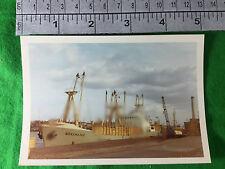 merchant vessel ship Sheksnales Shoreham 1970 port harbour actual photo