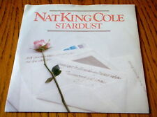 """NAT KING COLE - STARDUST / WHEN I FALL IN LOVE  7"""" VINYL PS"""