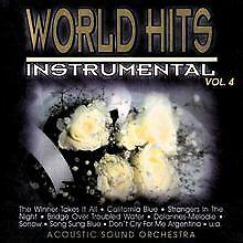 World Hits-Instrumental Vol.4 von Acoustic Sound Orch... | CD | Zustand sehr gut