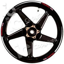 Kit Adesivi Ruote TRIUMPH Speed Triple Street Triple Tiger Stickers Wheels