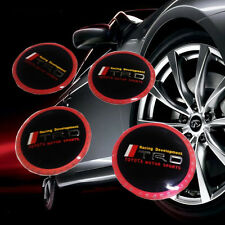 4Pcs Car Vehicle Wheel Center Cover Emblem Decal Sticker Cap for Toyota