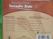 Country Gospel #1 ~ Christian Daywind Karaoke Style ~ Great Speckled Bird ~ CD+G