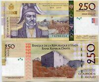 HAITI 250 GOURDE 2016 P 276 UNC