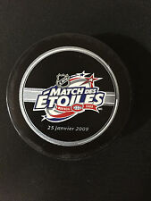 NHL ALL STAR 2009 OFFICIAL GAME PUCK MONTREAL CANADIENS BRAND NEW IN PUCK TUBE