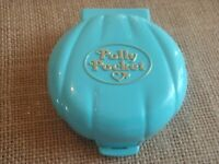 Vintage Bluebird Polly Pocket 1989 Beach Party Compact ONLY