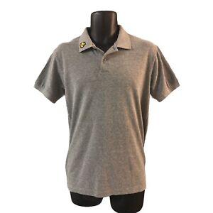 Bench Men's Polo Shirt Grey Medium Collar Logo
