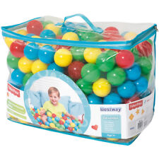 "2.2"" Play Balls Multi-Color 250 Pieces Plastic Pit Ball Kids Baby Fun Play Toys"