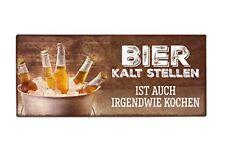 La Vida DEKO Schild Bier kalt stellen 30 5x13cm 390433