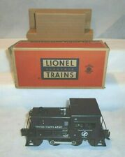 LIONEL No. 41 US ARMY SWITCHER, OB with INSERT - LN