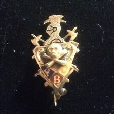 "Vintage"" Knights of Pythias"" Pin. Tested 10k"