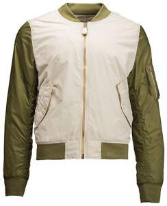 Brand New Genuine Alpha Industries L-2B Dragonfly Blood Chit Flight Jacket