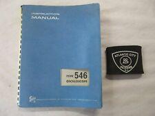Tektronix Type 546 Oscilloscope Service Instruction Manual 070-367