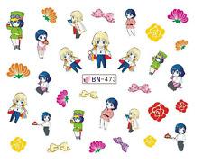 Nail Art Decals Transfers Stickers Cartoon Children (DB473)