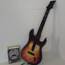 Guitar Hero Para Xbox 360 Controlador Inalámbrico RedOctane & Juego De Metallica
