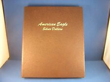 1986-2016 Silver American Eagle 31 U.S. Mint Gem Unc Coin Set in Dansco Album