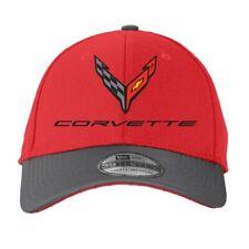 C8 Next Gen Corvette Flex Fit Performance Hat - M/L - Red