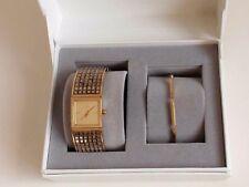 DKNY señora reloj de pulsera reloj fantastico pulsera set 2-piezas amarillo oro ny2440 nuevo