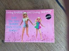 living Barbie and living Skipper 1970