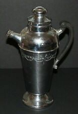 Vintage Large Mid Century LB Chromium Plated Martini Pitcher Cocktail Shaker