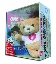 The Official One Direction Ultimate Gift Set Collectable Soft Toy Bear and Fans