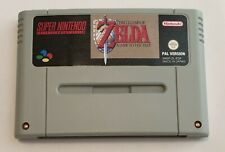 Zelda a Link to the Past Snes Super Nintendo PAL