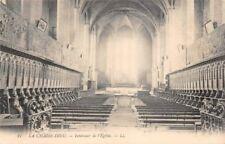 LA SILLA DIOS - interior de LA iglesia