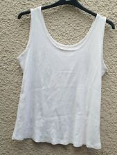 Ladies M&S Lilac Sleeveless Top Size 20