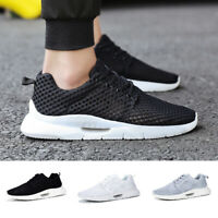 Size 7-14 Men's Breathable Sneakers Mesh Fitness Gym Casual Running Sports Shoes