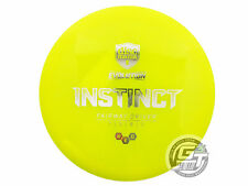 New Discmania Evolution Neo Instinct 169g Yellow Silver Foil Driver Golf Disc