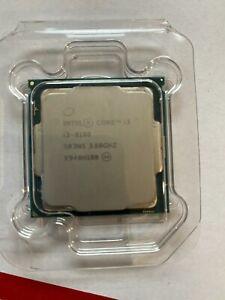 Intel i3-8100 Quad Core 3.6 GHz