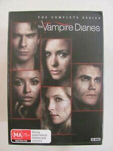 The Vampire Diaries The Complete Series DVD Box Set Region 4