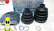 Front Inner & Outer CV Axle Boot Kit for Toyota Corolla XRS 2005 2006 Empi Boots