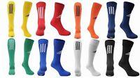 Adidas 3 Stripe Santos Football Socks Kids Junior Adult All Sizes Colours