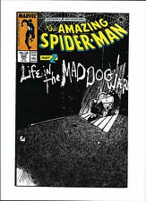 "AMAZING SPIDER-MAN #295  [1987 FN-]  ""LIFE IN THE MAD-DOG WAR!"""