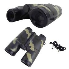 4X 35mm Camouflage Children Gift Portable Plastic Binocular Telescope Toy  EC