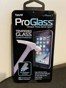 Proglass by Tzumi Set of 1 Tempered Glass Screen Protection For Iphone 7