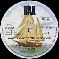 Suzi Quatro Suzi... And Other Four Letter W LP Album Vinyl Schallplatte 118473