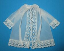 AUCTION Vintage BARBIE - LIGHT 'N LAZY #3339 > White Sheer Robe with Ties
