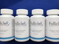 4 X FOLLICLERX  Promote Healthy Hair Growth-Follicle RX Hair Growth Formula